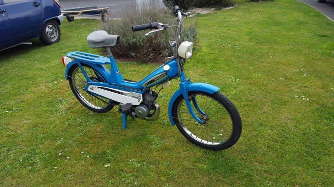 Motobecane mobylette n40 de 1971